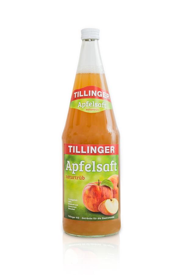 tillinger_eigenmarke_apfelsaft_trueb